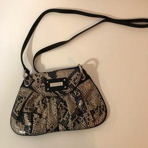 Miche Bag Snakeskin Pattern Crossbody Bag